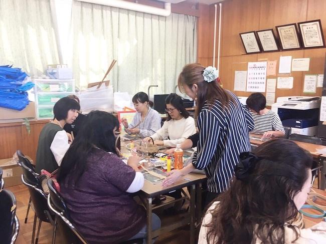 茨木市立小学校PTAクラフトバンド教室