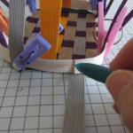 クラフトバンド 輪編みの編み方
