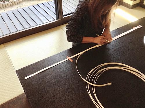クラフトバンド バッグの編み方