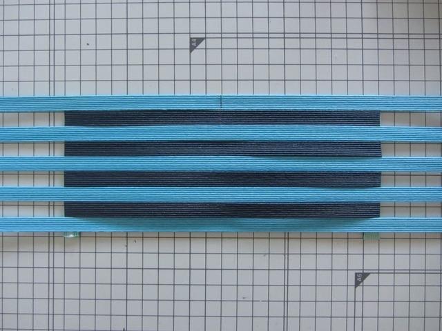 クラフトバンド 四角い底きれいに編むコツ