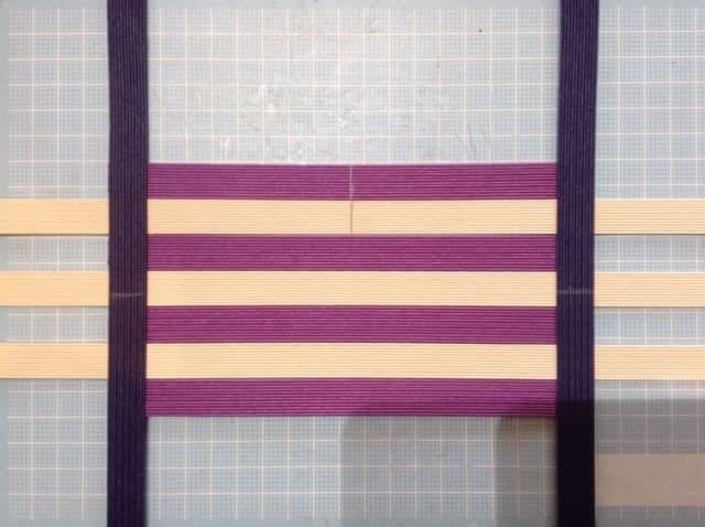 クラフトバンド追いかけ編み底の編み方