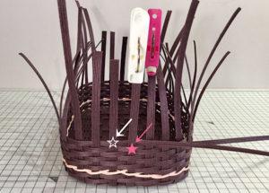 エコクラフト追いかけ編みの編み方