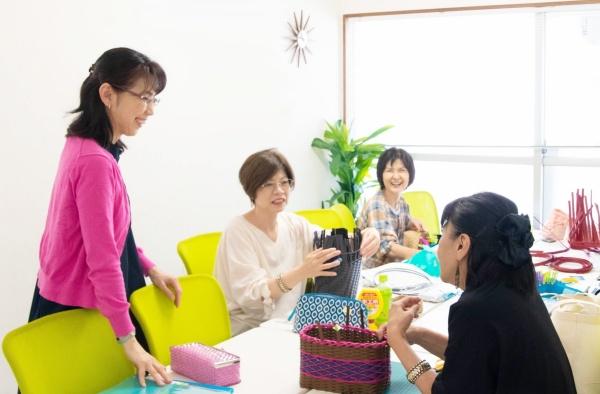 エコクラフトバンド名古屋教室
